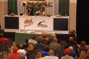 Wild Game Cooking Stage at Pheasant Fest with Lisa Erickson