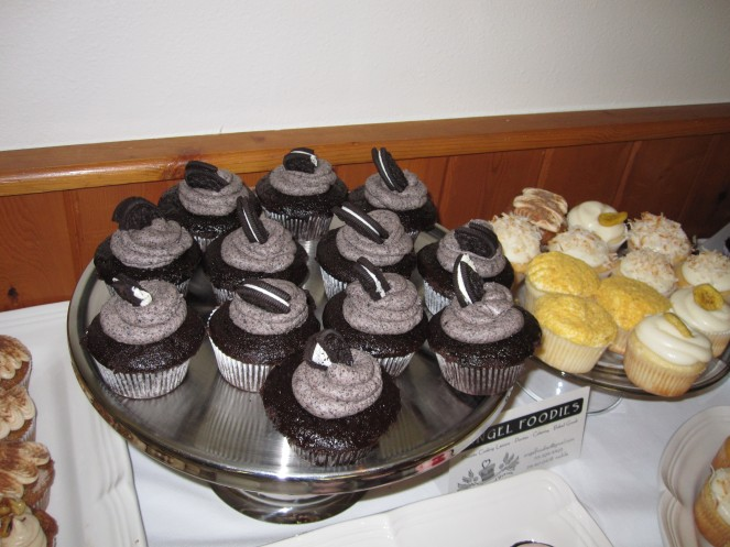 Oreo cup cakes