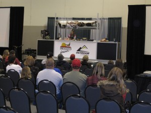 Wild game cooking stage