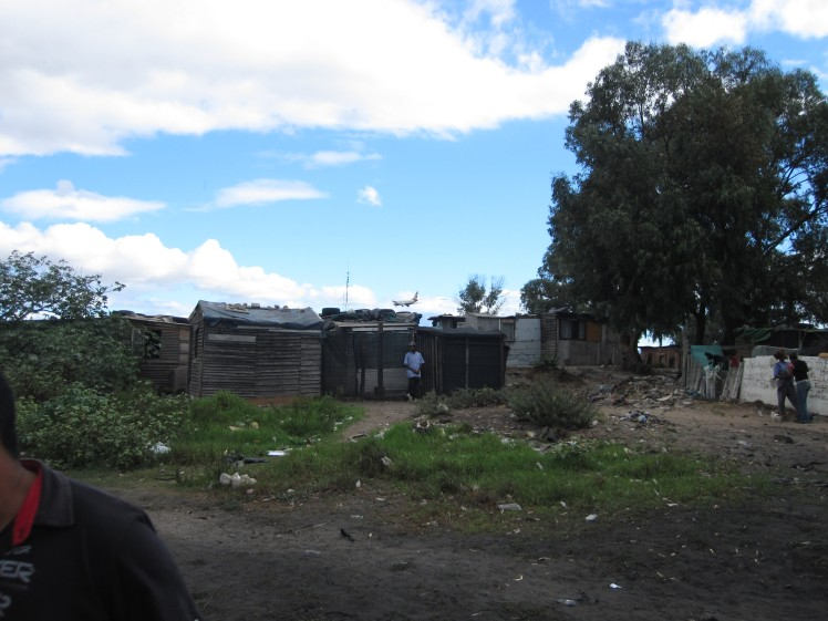 Poor housing in South Africa