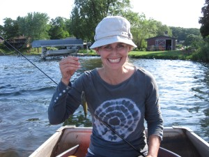 Fishing  with Lisa Marie Erickson