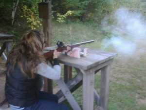 Shooting old fashion muzzle loaders