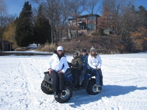 Lisa Erickson On a 4 wheeler