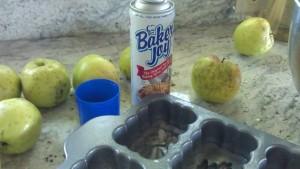 Spray for cake pans