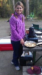 Camping in Yellowstone with Lisa Erickson