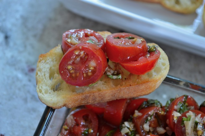 Perfect Bruschetta!